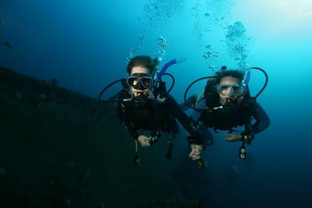 Scuba Diving Produce Wreck, Aliwal Shoal