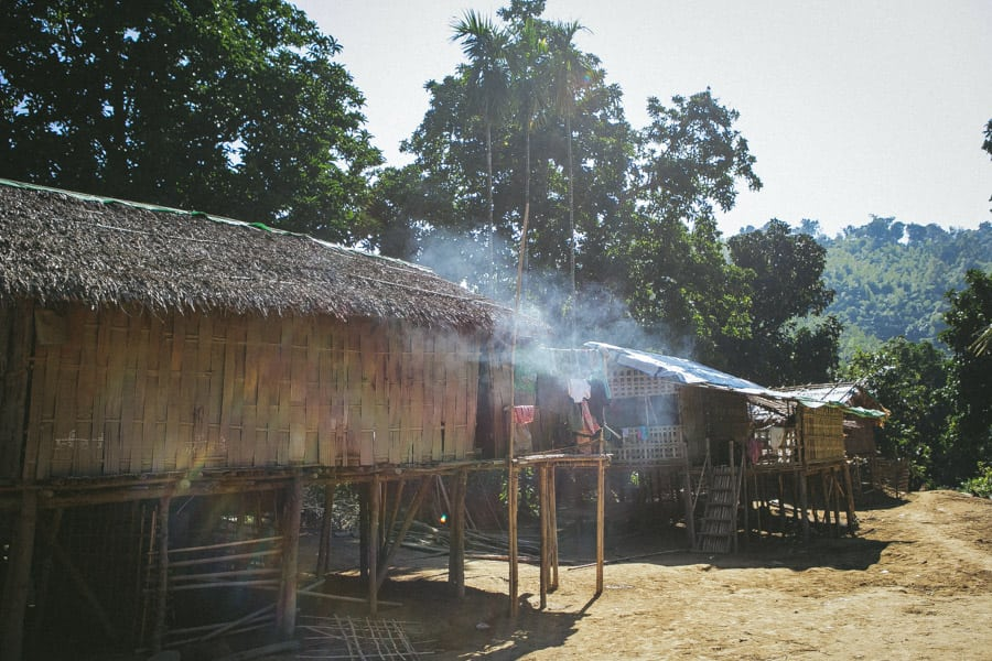 Myanmar-Mrauk U-Chin Villages-017