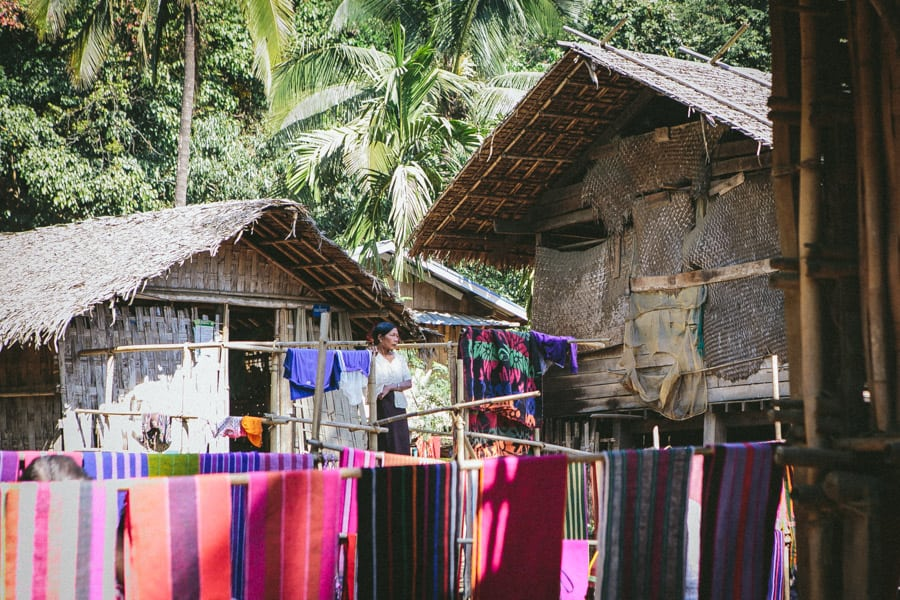 Myanmar-Mrauk U-Chin Villages-025